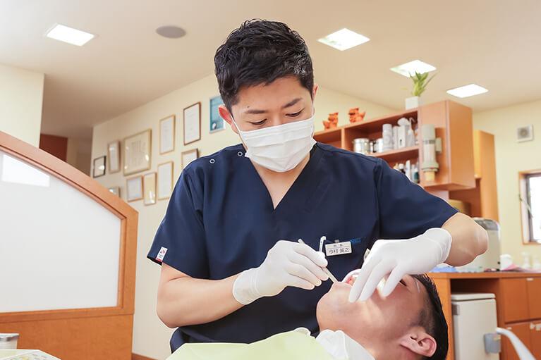 虫歯・歯周病・顎関節症などの治療